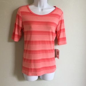 LuLaRoe Gigi Fitted Top New XS